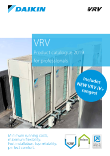 200 - VRV product catalogue for professionals